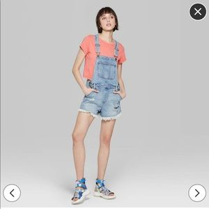 Wild Fable Short Overalls